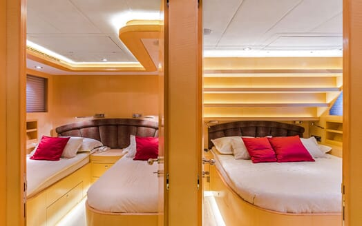 Motor Yacht CONTE ALBERTI Twin & Double Guest Stateroom