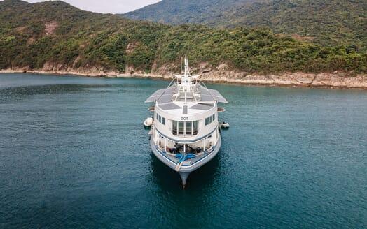 Motor Yacht DOT Bow
