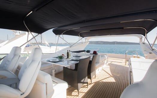 Motor Yacht LADY ADELHEID Sun Deck