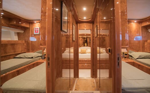 Motor Yacht LADY ADELHEID Staterooms
