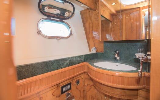 Motor Yacht LADY ADELHEID Guest Bathroom