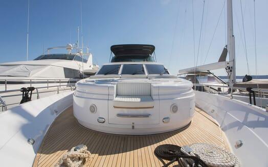 Motor Yacht LADY ADELHEID Forward Deck Sun Pad