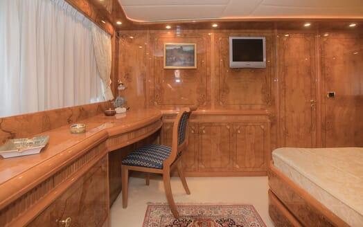 Motor Yacht LADY ADELHEID Master Stateroom Desk