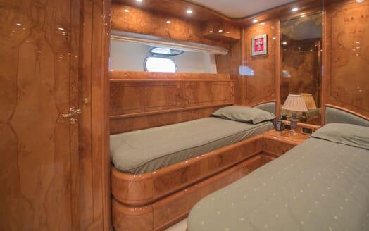 Motor Yacht LADY ADELHEID Guest Twin Stateroom