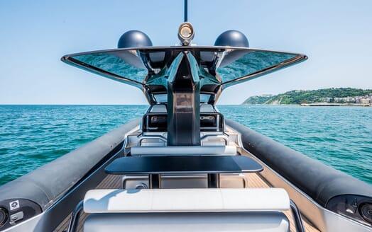 Motor Yacht SHADOW On Deck