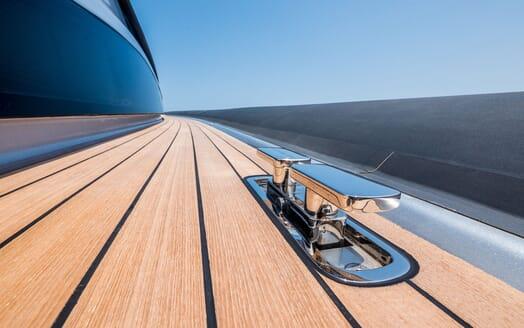Motor Yacht SHADOW Deck Detail