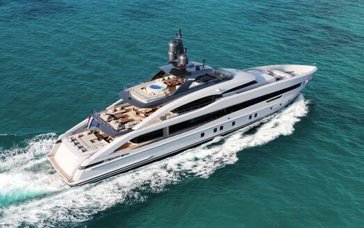 Motor yacht PROJECT SAPPHIRE Exterior Underway