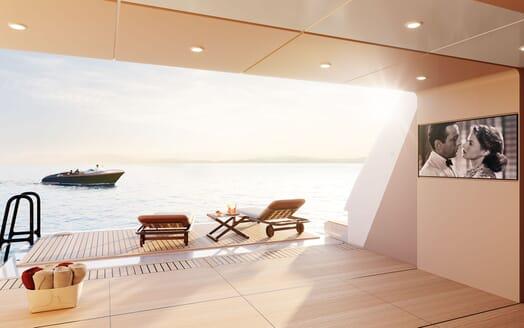 Motor yacht PROJECT SAPPHIRE Fold Down Beach Club