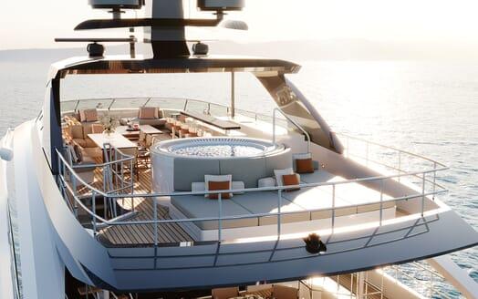 Motor yacht PROJECT SAPPHIRE Sun Deck