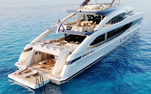 Motor yacht PROJECT SAPPHIRE Exterior Decks View