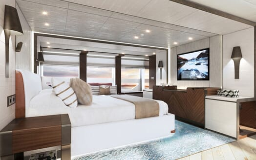 Motor yacht PROJECT SAPPHIRE Guest Double Stateroom
