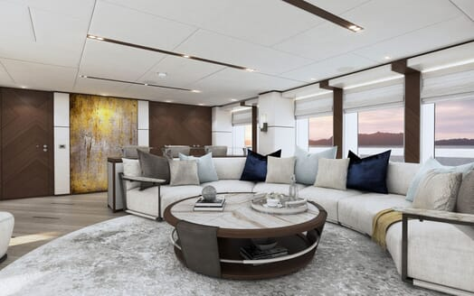 Motor yacht PROJECT SAPPHIRE Main Deck Seating