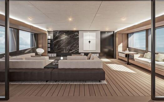 Motor Yacht CONRAD C144S Seating