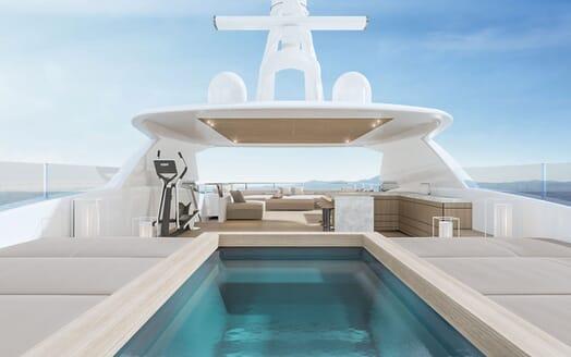Motor Yacht CONRAD C144S Sun Deck Jacuzzi