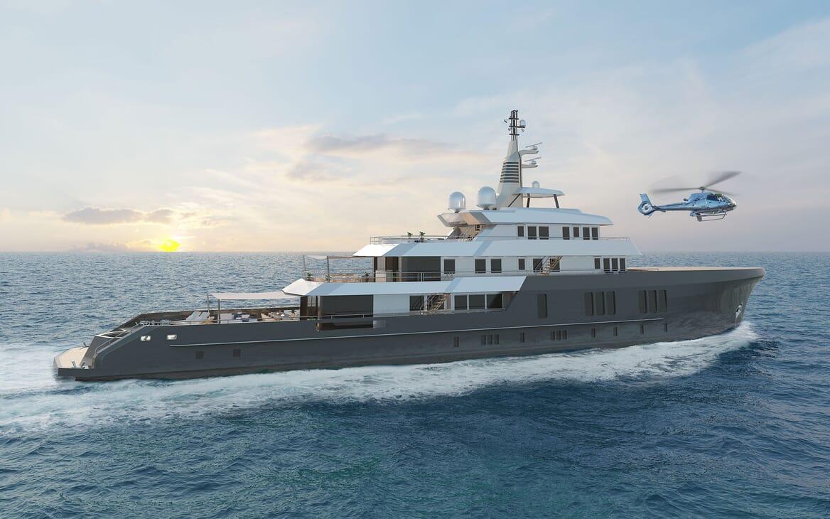 Motor Yacht PROJECT PN 116 Exterior Hero