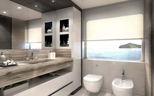 Motor Yacht MAJESTY 175 Bathroom 2