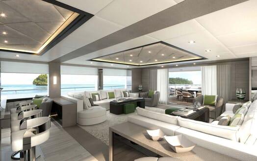 Motor Yacht MAJESTY 175 Main Deck