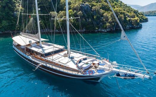 Sailing Yacht S NUR TAYLAN Exterior Moored