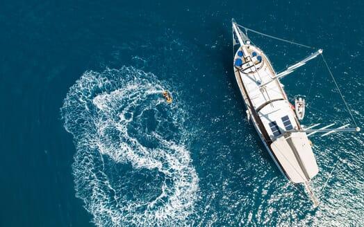 Sailing Yacht S NUR TAYLAN Jetski