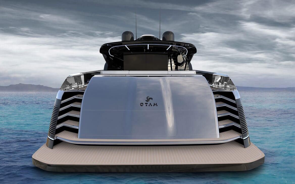 Motor Yacht OTAM CUSTOM RANGE 115 Exterior Aft