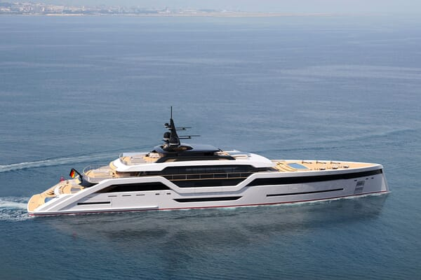 Motor Yacht VAST 72M Profile Hero