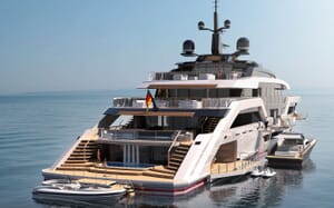 Motor Yacht VAST 72M Aft Decks
