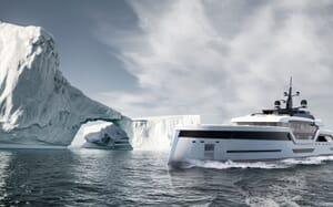 Motor Yacht VAST 72M Exterior Arctic