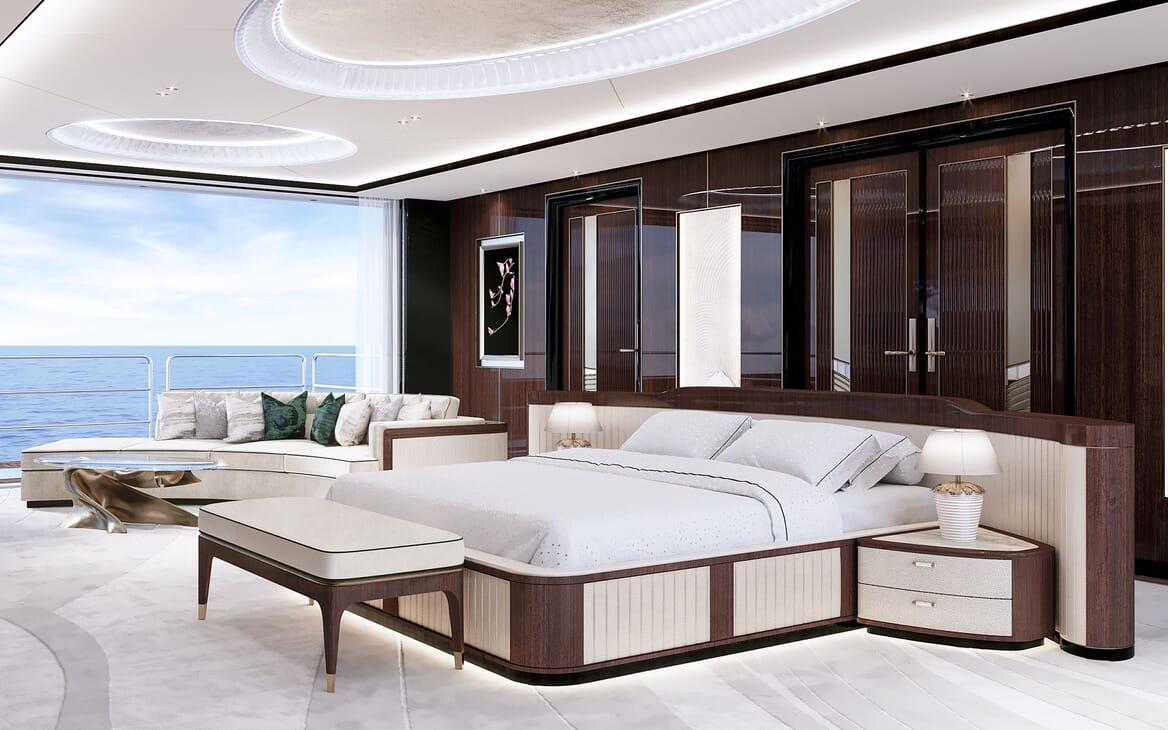 Motor Yacht VAST 72M Master Stateroom