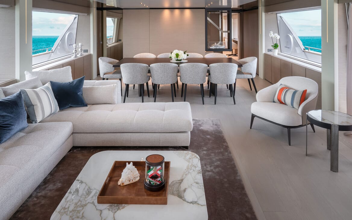 Motor Yacht ADELIA Main Deck