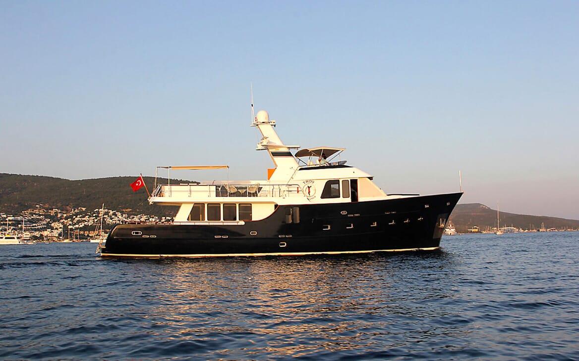 Motor Yacht TROY EXPLORER Hero Profile