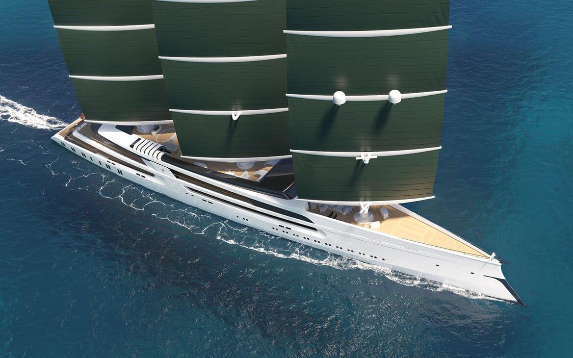 Sailing Yacht PROJECT SONATA Exterior Sales