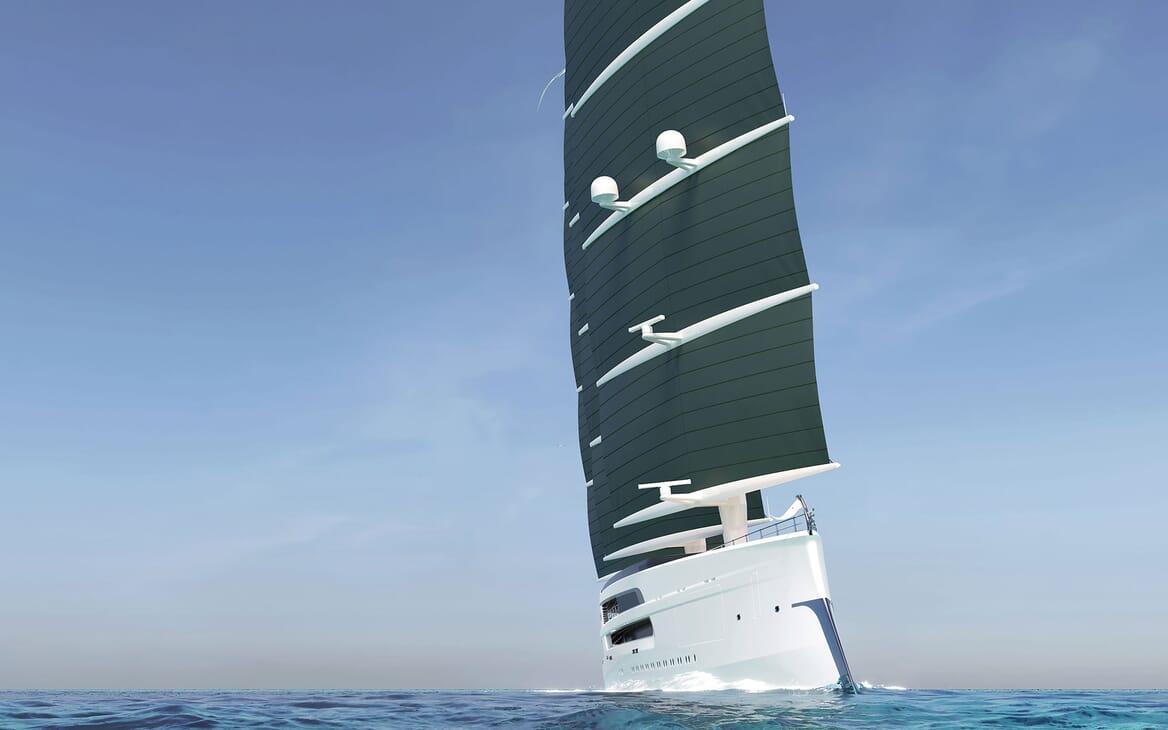 Sailing Yacht PROJECT SONATA Underway