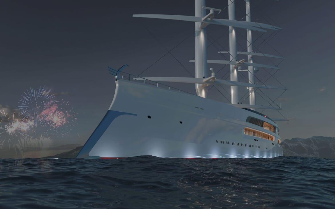 Sailing Yacht PROJECT SONATA Exterior Bow