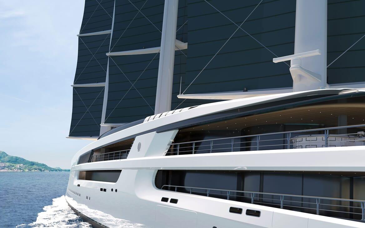 Sailing Yacht PROJECT SONATA Exterior Detail