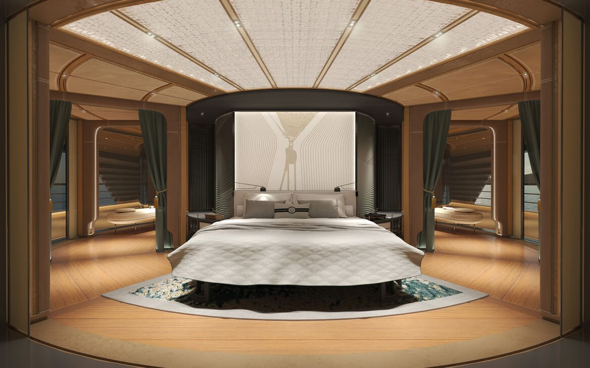 Sailing Yacht PROJECT SONATA Master Stateroom