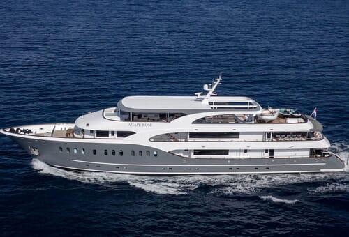 Motor Yacht AGAPE ROSE Hero Profile