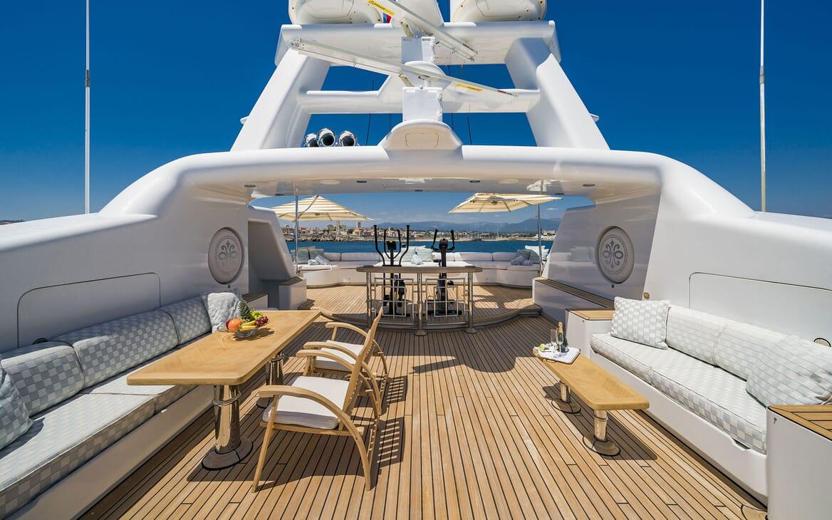 Motor Yacht MOSAIQUE Sun Deck