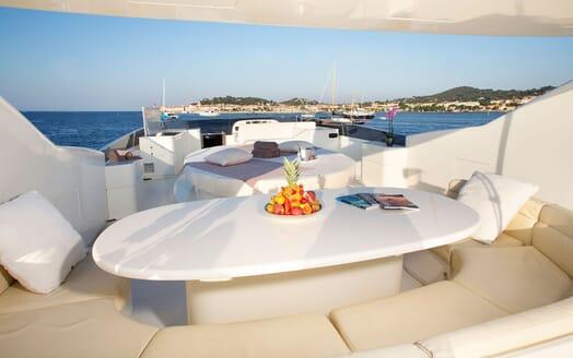 Motor Yacht BEIJA FLORE Sun Deck
