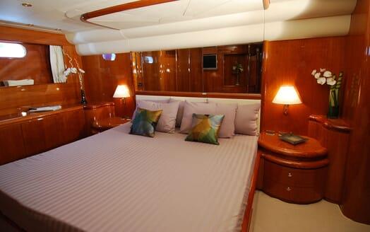 Motor Yacht BEIJA FLORE Double Stateroom