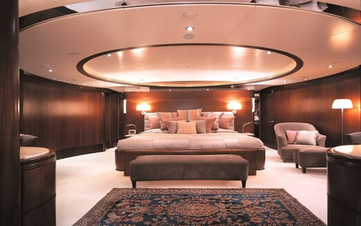 Motor Yacht More master cabin