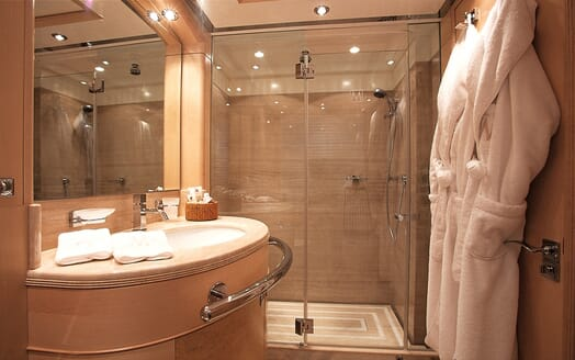 Motor Yacht More guest bathroom