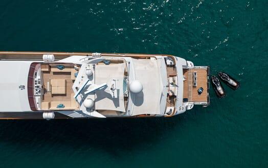 Motor Yacht Ladyship aft shot
