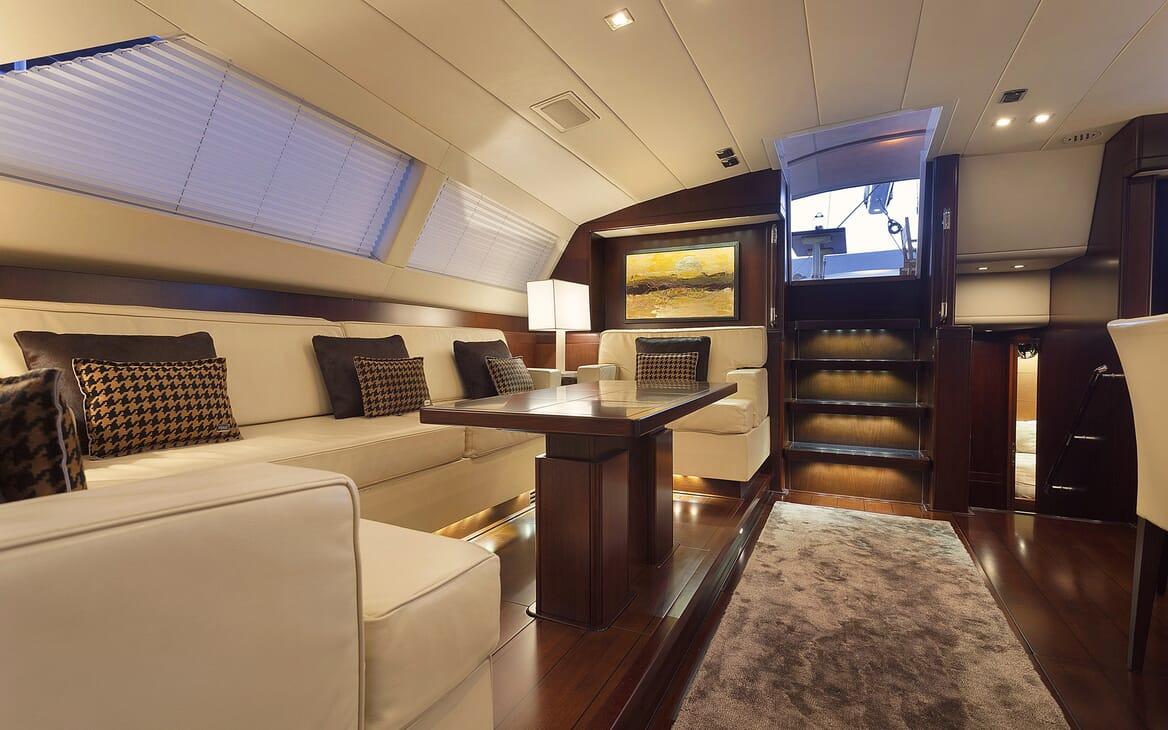 Sailing Yacht FARANDWIDE interior