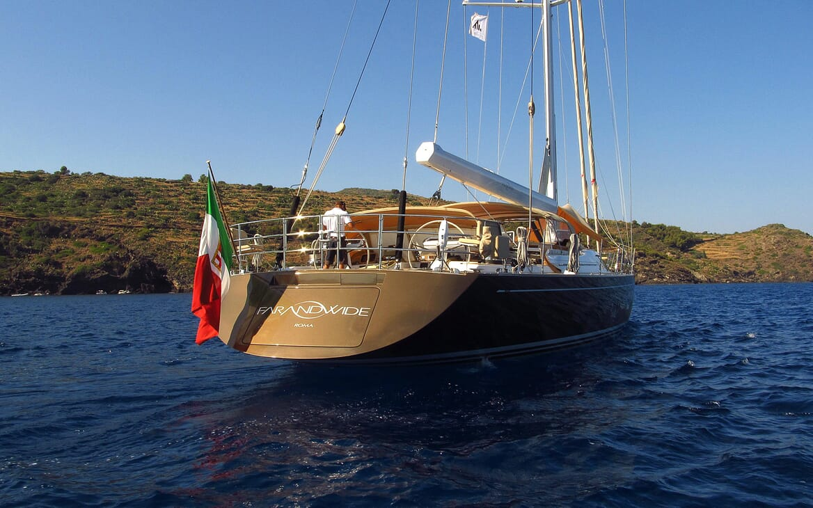 Sailing Yacht FARANDWIDE underway