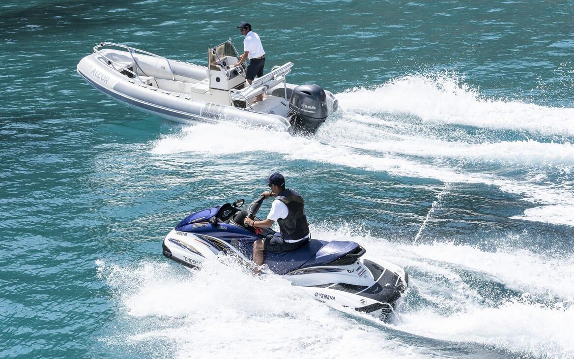 Motor Yacht ALCOR Tender & Jetski