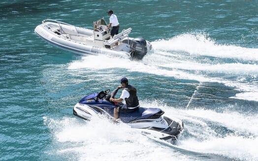 Motor Yacht ALCOR Tender with Jetski