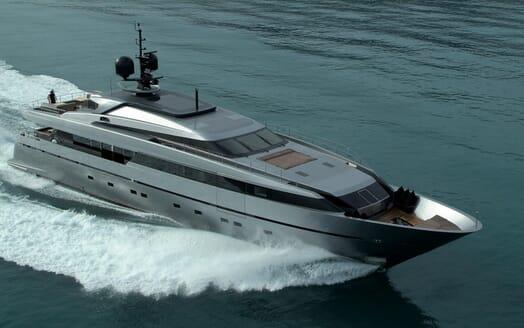Motor Yacht 4A running shot