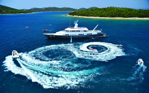 Motor Yacht Berzinc Tenders and Toys