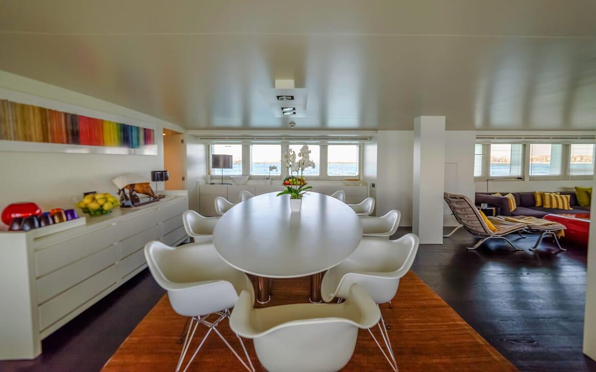 Motor Yacht Berzinc Dining Table 2