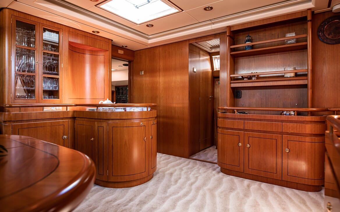 Sailing Yacht SCARENA Main Saloon